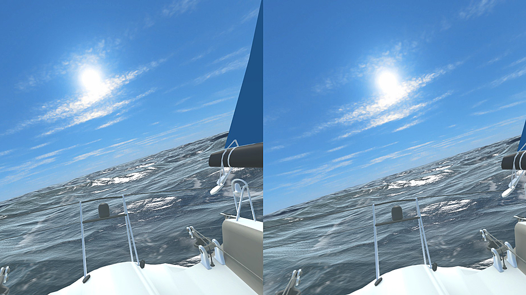 Screenshot of VRSailing