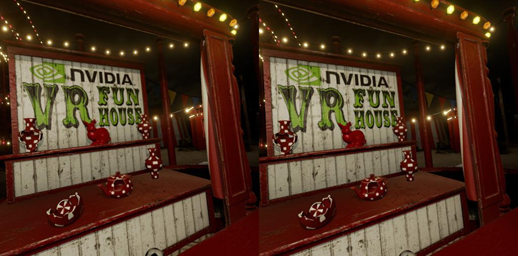 Nvidia VR Fun House