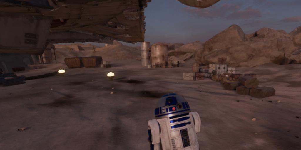 Screenshot of Trials of Tatooine
